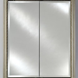Afina - Recessed Double Door Cabinet (24 in. W x 4.38 in. D x 30 in. H) - Choose Size: 24 in. W ...