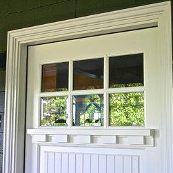 SE Portland - Mt. Tabor - Craftsman entry door project by Bridgetown Window & Door