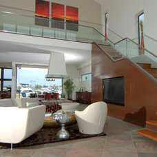 Contemporary Staircase by Otis Architecture