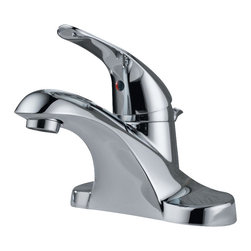 Delta - Foundations Core-B Single Handle Centerset Bathroom Faucet in Chrome - Delta B510LF Foundations Core-B Single Handle Centerset Bathroom Faucet in Chrome.