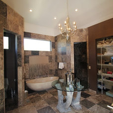 Contemporary Bathroom by Jerry Bussanmas