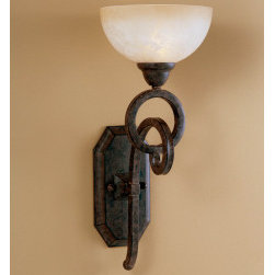 "22430 Legato, Wall Sconce by uttermost - Get 10% discount on your first order. Coupon code: ""houzz"". Order today."