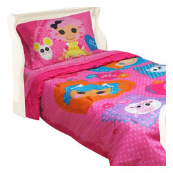 Store51 LLC - Lalaloopsy Twin Bedding Set Cute Buttons Comforter Sheets - FEATURES: