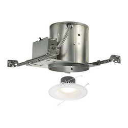 LED Recessed Lighting Kit for New Construction - 15.3-Watts -