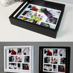 Photo Trays, Photo Frames - These photo trays can be used as photo frames while hang on the wall, also can be used as organizers while put on the table.