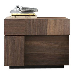 Rossetto - Air Left Nightstand by Rossetto USA - Features: