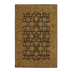 Safavieh - Safavieh Anatolia Small Rectangular Rug in Brown, Gold 2'x3' - Anatolia Collection Brings Old World Sophistication and Quality in New Tufted Rugs. This Collection Captures the Authentic Look and Feel of the Decorative Rugs Made in the Late 19Th Century in This Region. Hand Spun Wool and an Ancient Pot Dying Technique Together with a Densely Woven Thick Pile, Gives Anatolia Rugs Their Authentic Finish. What's included: Area Rug (1).