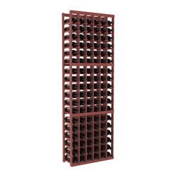 Wine Racks America - 6 Column Standard Wine Cellar Kit in Pine, Cherry + Satin Finish - Six columns for bottle storage is a perfect solution for 9 cases of wine. The modular format ensures you can expand storage without worrying about new racks lining up properly. We construct every rack to our industry-leading standards. You'll love our racks. Guaranteed.