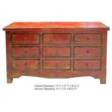 Eclectic Buffets And Sideboards by Golden Lotus Antiques