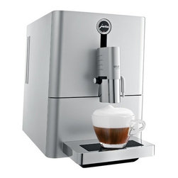 Jura - Jura Ena Micro 9 One Touch - Even when space is at a premium, the Ena Micro 9 is still able to provide lovers of specialty coffees with maximum enjoyment. The newly developed brewing unit, which has been specially engineered for a single cup, makes this the world's smallest automatic machine that is capable of preparing a cappuccino and a latte macchiato at the touch of a button without having to move the cup.