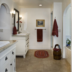 traditional bathroom by Shaw Design Group