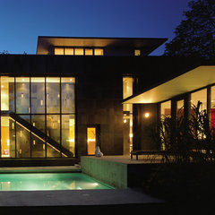 modern pool by Paul Raff Studio