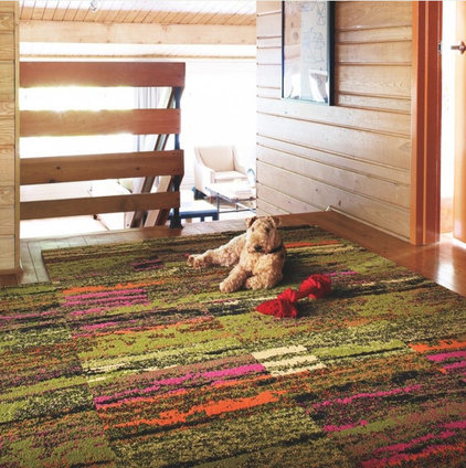 Eclectic Carpet Flooring by FLOR