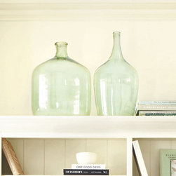 Ballard Designs - Glass Demijohn - There is something very attractive about large glass vessels. They don't need to do anything but simply sit there and look pretty.