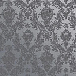 Tempaper - Textured Blue Pearl DAF065 Damsel Self-Adhesive Wallpaper - Textured Blue Pearl DAF065 Damsel Self-Adhesive Wallpaper's self-adhesive and has 12 inches of pattern repeat. This self-adhesive wallpaper is revolutionary in the home decor industry. It can be easily removed, repositioned or readjusted to match your style. It is the perfect wallpaper for renters, or people who just like to change their home decor often! Liven up any room as frequently as you like with self-adhesive removable wallpaper. Collection name: Tempaper Size of each double roll is 20.5 inches x 33 feet. Each double roll covers about 56.37 square feet / 5.24 square meters. Wallpapers are priced per single roll, but packaged and sold in double rolls only. Please order the number of single rolls that you will need, but you must order in multiples of two (even numbers) only.
