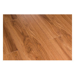 Toklo - Toklo Laminate - 12mm US Collection - [14.0 sq ft/box] - Montreal Hickory -    The Toklo 12mm US collection is a first-quality, high-end, AC3 Rated, CARB-ATCM - Phase 1 compliant, HDF core flooring.     The drop lock locking system allows for ease of installation without using glue and can be installed above or below ground. This laminate flooring is suitable for residential and light commercial applications and comes with a 30 year residential warranty (5 year commercial warranty).     Surface Type:    Handscraped Finish: Greybeard Oak  Smooth Finish: Montreal Hickory and Centennial Maple  Wood Grain Finish: Brandywine Oak and Colonial Harvest Oak