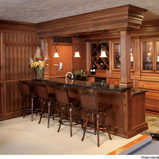 Traditional Home Bar by Showplace Wood Products