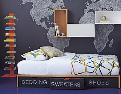 Contemporary Kids Beds by CB2