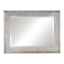 Jonathan Charles - New Jonathan Charles Mirror Silver Silver - Product Details