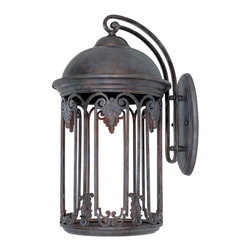 Designers Fountain - Designers Fountain Barrington Dark Sky Traditonal Outdoor Wall Sconce X-BO-13013 - Old fashioned class and durability is what the Dark Sky Traditional Outdoor Wall Sconce is all about. The sleek Old Bronze style melds perfectly with a starry night making it an elegant ornament for your porch, garden, or patio. The highly detailed styling and old world lantern appeal make for an intriguing, friendly glow.