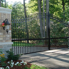 Traditional Fencing by P.B. Welding Service