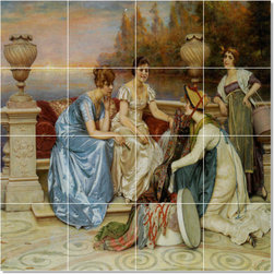 Picture-Tiles, LLC - Choosing The Finest Tile Mural By Frederic Soulacroix - * MURAL SIZE: 17x17 inch tile mural using (16) 4.25x4.25 ceramic tiles-satin finish.