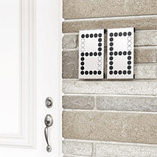 Eclectic House Numbers by uncrate.com