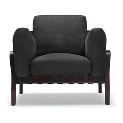 Wesley Wood Accent Chair - PRODUCT DESCRIPTION
