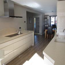 Modern Kitchen Cabinets by Falkingham Fabrication, Fitting Kitchen Worktops