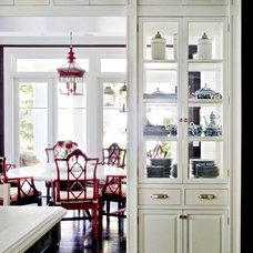 Kitchens / A new take on open shelving.