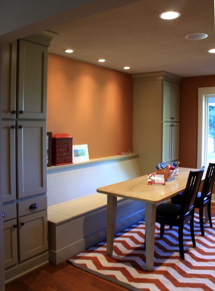 Eclectic Kitchen Cabinets by Starlite Kitchens and Baths