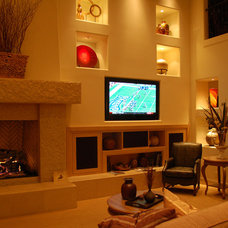 Home Theater by Room Service Home Technologies