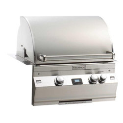 """Fire Magic - Fire Magic Aurora A530i1E1P Built In LP Gas Grill, Natural Gas - -Cast stainless steel """"E"""" burners -  guaranteed for life  -16-gauge stainless steel flavor gridsare engineered for durability and even heatdistribution  -Advanced Hot Surface Ignition  -Built-in Interior Lights  -Integral and removable ovenwarming rack for light cooking or warming food  -Meat probewith digital thermometer  -Built-in storage rackfor rotisserie spit rod  -Extensive lineof complementary accessories    Cooking Surface: 528 square inches (24"""" x 22""""); BTUs primary: 60,000  Cut out Dimensions: 25.5"""" W x 23.5 D x 12"""" H    15 year warranty on backburnersCast stainless steel burners, stainless steel housing and stainless steelcooking grids are warranted for as long as you own your grill"""