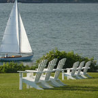 Seaside Casual Shellback Adirondack Chair - Seaside Casual Furniture has been providing outdoor products to Southern New England for nearly 100 years. We are confident that you are viewing the finest ready to assemble outdoor furniture products available.