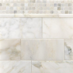 Selene Stone - Ann Sacks Tile & Stone - I love all the variation, depth and range of this marble. It's a bit stronger in tone than Calacatta, and it's something a little different.