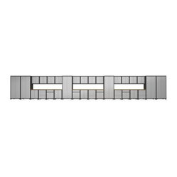 NewAge Products Diamond Plate Pro Series Cabinetry 46 ft.- System - 36 Piece Set - The NewAge ...