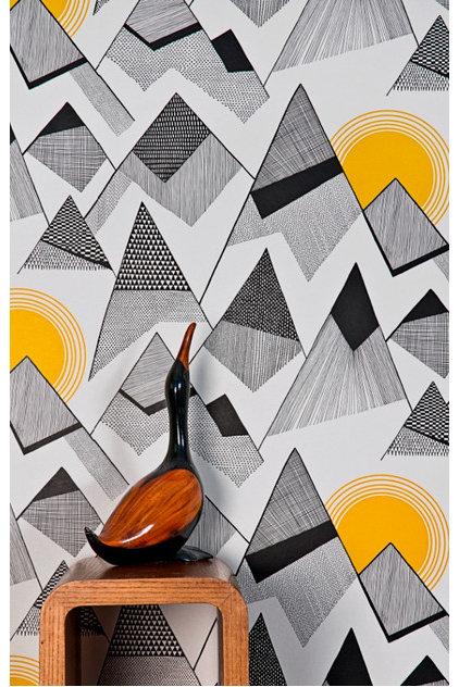 Modern Wallpaper by Paper Room