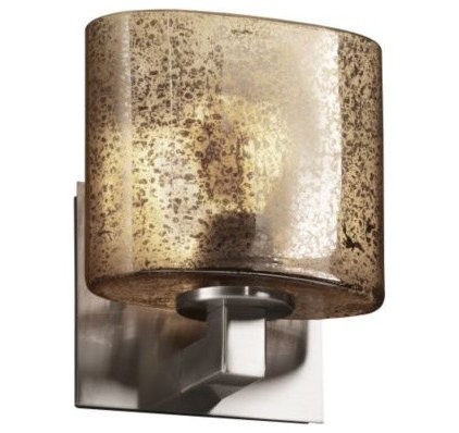 Wall Sconces Fusion Mercury Glass Modular Wall Sconce by Justice Design