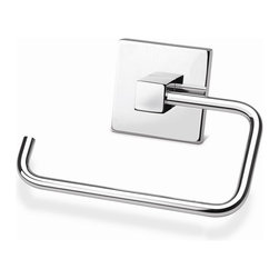 Croydex - Brompton Toilet Roll Holder - QB511141YW - Manufacturer SKU: QB511141YW. Durable Brass Construction. High Quality Chrome Plated Finish. Concealed Screws. All Screws Included. Easy to Install. 5.71 in. W x 1.38 in. L x 3.94 in. HElegant, stylish and with a touch of class! Brompton is a high quality range of bathroom accessories that are brass construction, but beautifully finished in high quality chrome. A favorite for any design of bathroom!