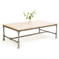 Industrial Coffee Tables by 5 Horizons