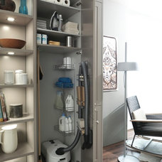 contemporary pantry by Belle Kitchen design | build