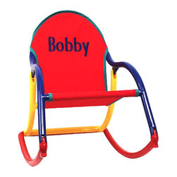 Hoohobbers - Personalized Rocking Chair - Personalized Rocking Chair - Multiple Colors