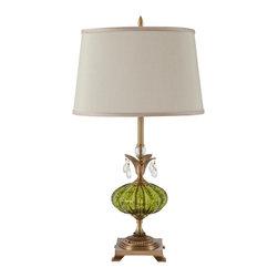 Harlequin Light - Harlequin Delighter Lamp #2 - Distinguished, distinctive and truly delightful!