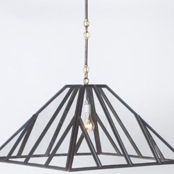 EuroLux Home - New Chandelier Consigned Vintage Greenhouse Hand-Made - Product Details