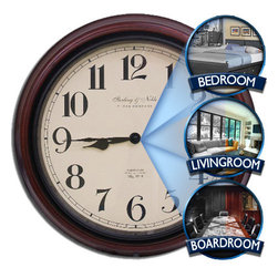 NEW LAUCH SPY WALL CLOCK CAMERA - Spy World your Shop to Buy Spy Hidden Cameras in Delhi India, Wireless Cameras, Gps Trackers, Audio Devices Delhi, Button Cameras, Spy Gadgets Delhi India.