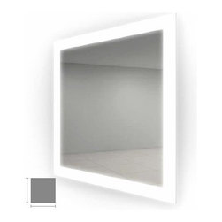 """Electric Mirror Silhouette 30"""" x 30"""" Lighted Mirror SIL3030 -"""