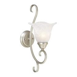 Vaxcel Lighting - Vaxcel Lighting BL-VLU001 Bella 1 Light Bathroom Sconce - Features: