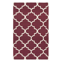 Artistic Weavers - Artistic Weavers York Mallory (Purple) 5' x 8' Rug - This Hand Woven rug would make a great addition to any room in the house. The plush feel and durability of this rug will make it a must for your home. Free Shipping - Quick Delivery - Satisfaction Guaranteed