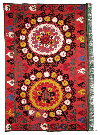 eclectic throws by Uzbek Craft