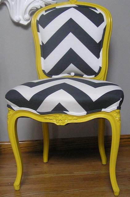eclectic chairs by Etsy